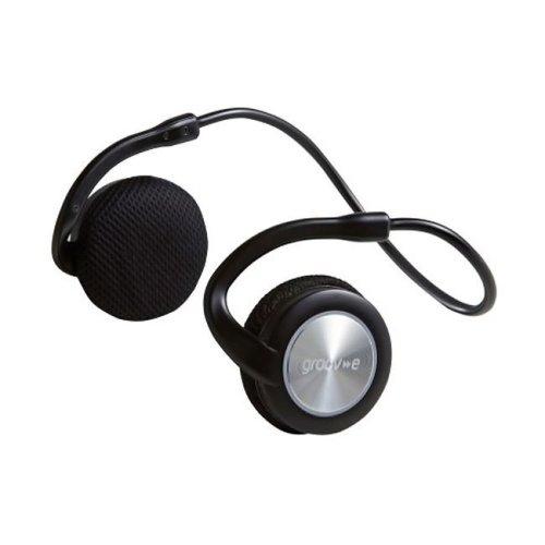 Groov-e GVBT300BK Motion Wireless Sports Headphones With Neckband