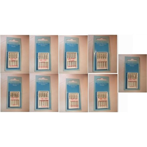 JTL Haberdashery Pack of 5 Sewing Machine Needles - Choice of Type