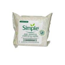 Simple Cleansing Wipes Age Resisting 25 Wipes Sensitive Skin