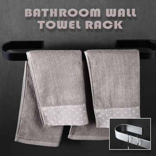Towel Rail Rack Holder WallMounted Stainless steel