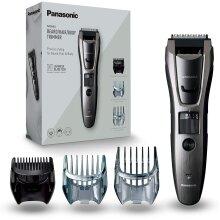 Panasonic ER-GB80 Wet and Dry Electric Beard, Hair and Body Trimmer for Men, 18 x 5.2 x 4.3 cm, Grey, 330 g, ER-GB80-H511, UK 2 Pin Plug