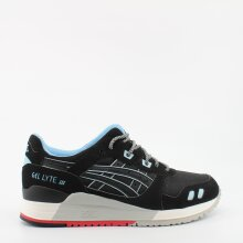 Asics Gel Lyte III Future Pack Black Mens Lace Up Trainers H637Y 9090