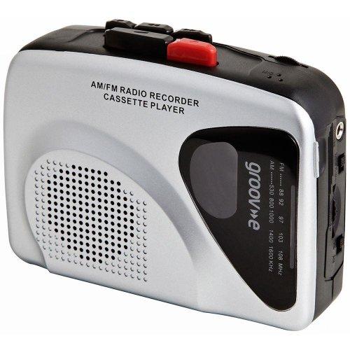 Groov-e Retro Personal Cassette Player - Silver