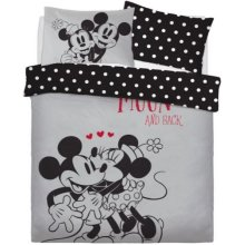 Minnie & Mickey Mouse Love You Double Duvet Cover Set