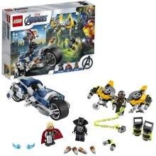 Lego 76142 Lego Super Heroes Avengers Bike Construction Playset