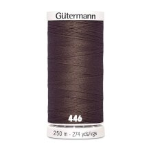 Gutermann Sew-All General Purpose Polyester Thread for Hand or Machine Sewing, Embroidery and Quilting 250m Spool