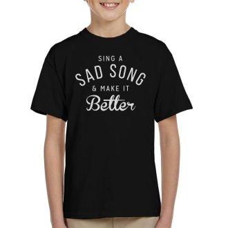 Hey Jude Song Lyric Kid's T-Shirt