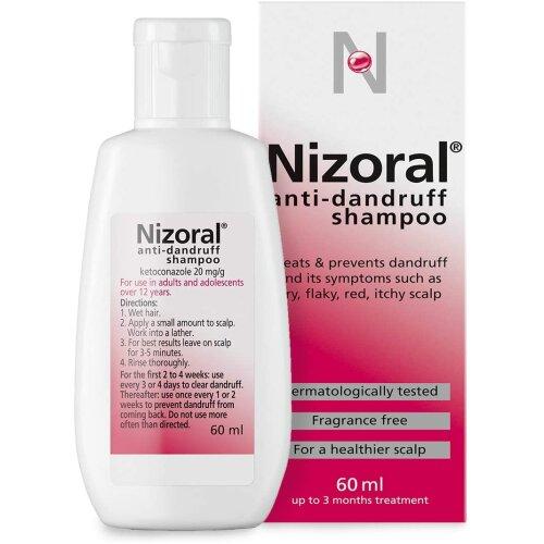 Nizoral Anti-Dandruff Shampoo Treats And Prevents Dandruff 60ml