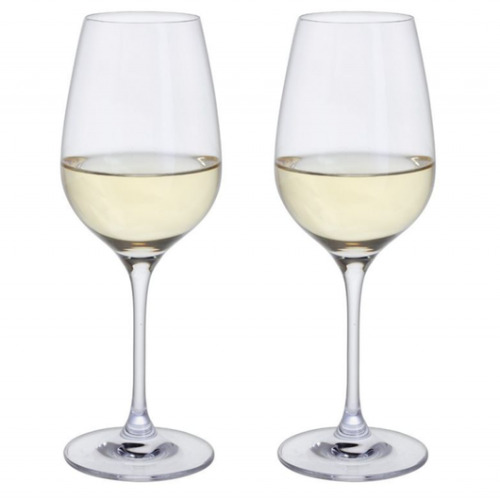 Dartington Crystal Just For Two White Wine Pair