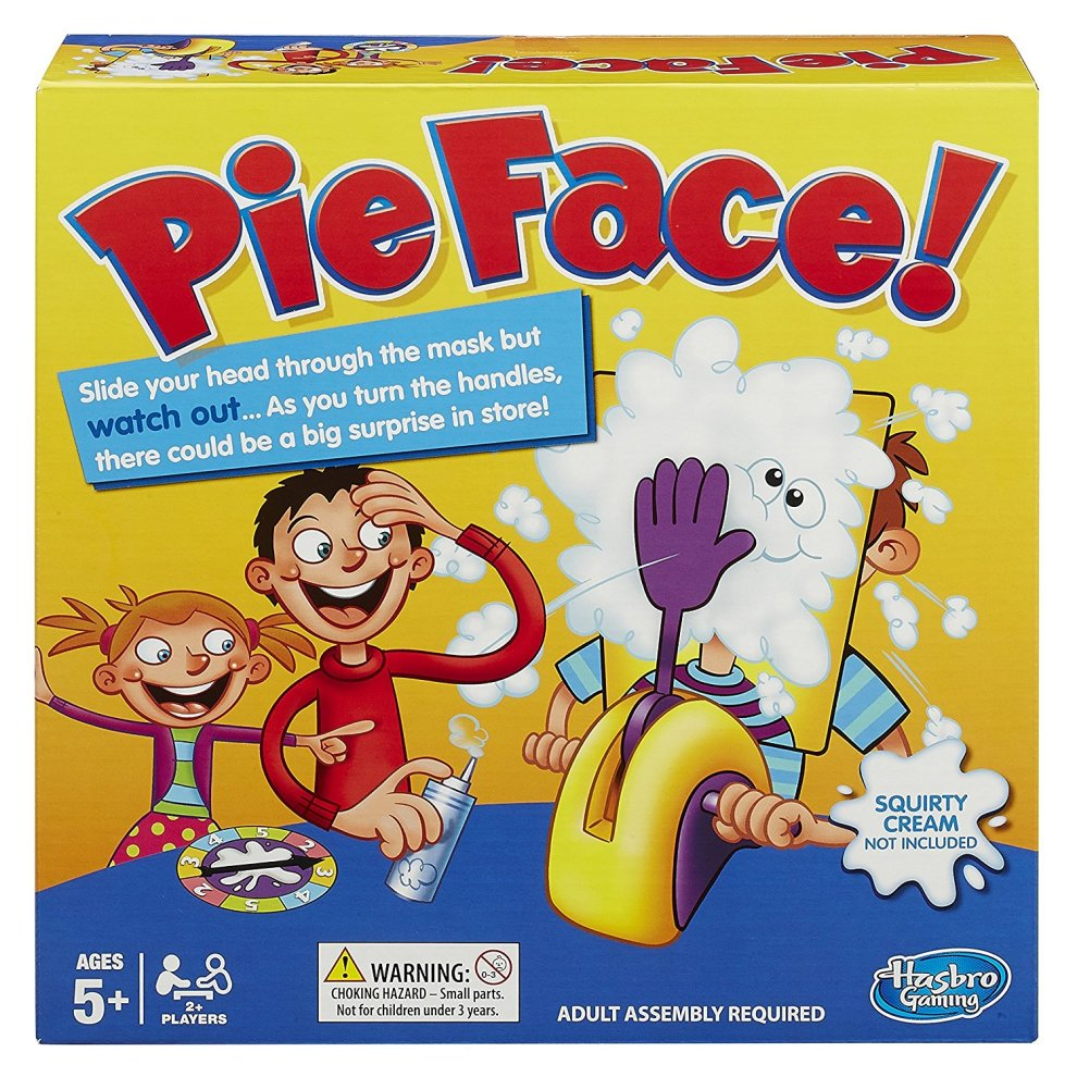 Hasbro Pie Face Family Game