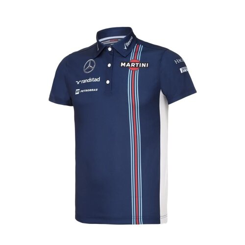 POLO ladies Williams Martini F1 Formula One 1 NEW! Mercedes Womens Poloshirt 12