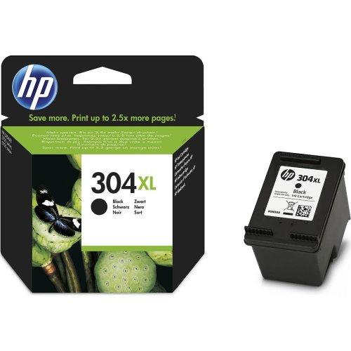 HP 304XL Black Ink Cartridge, Black