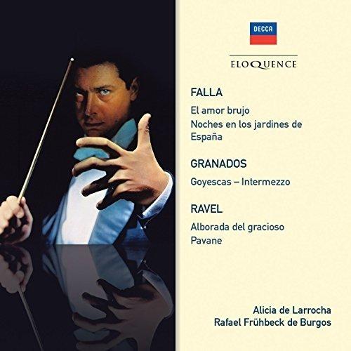 De Larrocha Alicia - Falla  Granados  Ravel [CD]