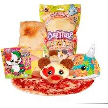 Cutetitos Pizzaitos - Collectible Surprised Stuffed Animals Plush