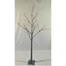 Lumineo LED Grey Chalk Tree - 180cm - 96 Warm White LED Lights