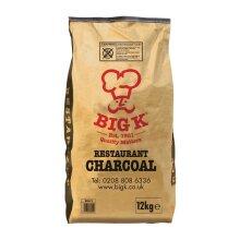 Big K Restaurant Natural Charcoal 12kg - [DC868]