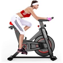 Dripex Exercise Bike Stationary Bike All-inclusive Belt Drive System