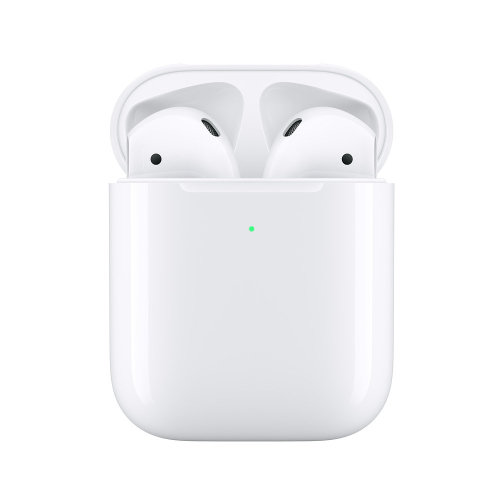 Apple AirPods with Wireless Charging Case | 2nd Gen (2019) Bluetooth Earphones