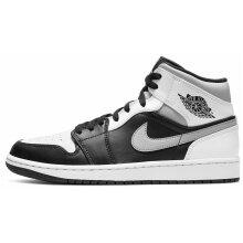 Sneakers Mid AJ1 White Black Shadow Retro Basketba