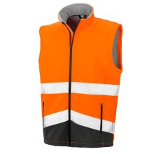 Safeguard Safety Softshell Gilet For Mens