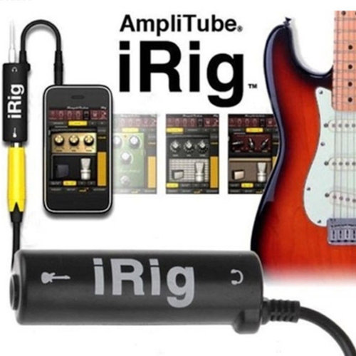 iRig Guitar Interface AmpliTube Converter Adapter