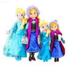 Baby Toy Kids Doll Frozen Snow Queen Elsa Stuffed Doll Princess Anna Elsa Doll