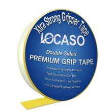Extra Strong Double Sided Carpet Rug Gripper Tape Grip Strength 20M