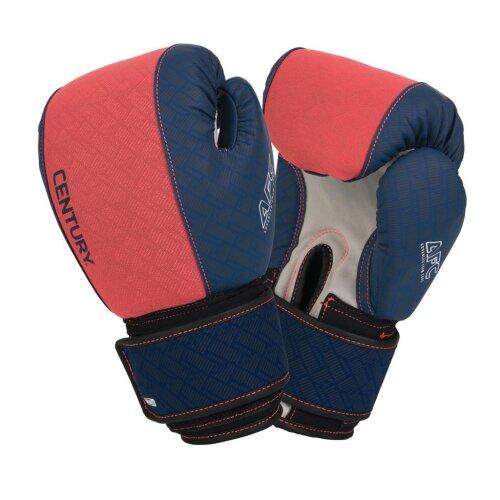 Brave Ladies Neoprene Gloves - Coral/Navy - MMA, Boxing, Gym, Fitness
