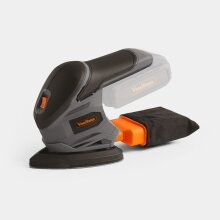 E Series Cordless Sander Hook Loop Dust Collection Box