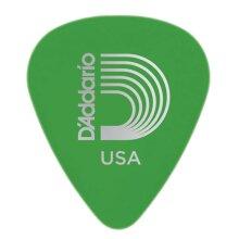 D'Addario Planet Waves Duralin Guitar Picks Medium 0.85mm Green 10 Pack 1DGN4-10