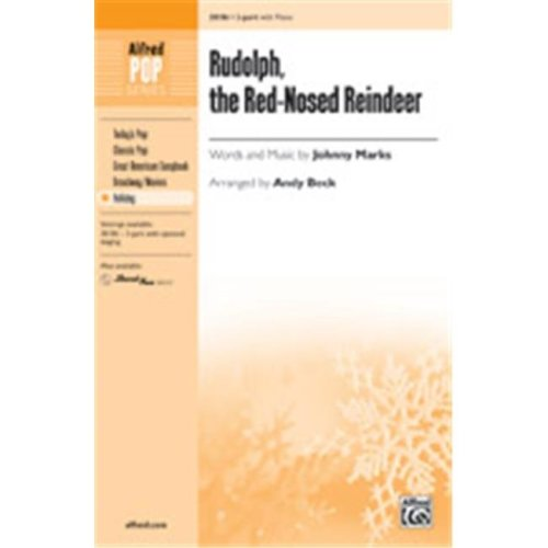 Alfred 00-38187 RUDOLPH RED NOSED REINDEER-STRX CD