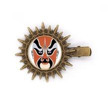 Beijing Opera Peking China Head Hairpin Sun Headwear Retro Metal Clips Pin