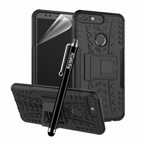 For Huawei Y7 2018 Rugged Shockproof Case Cover