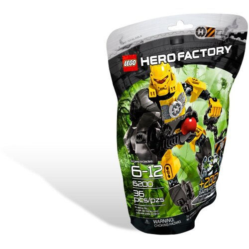 LEGO Hero Factory EVO ~ 6200 ~ Rare & Retired ~ Ages 6 - 12
