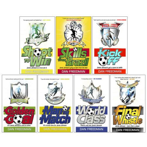Dan Freedman 7 Books Collection Set Jamie Johnson Football Series NEW