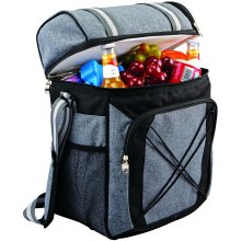 GEEZY Insulated Cooler Bag Camping Picnic Hamper Double Cool Bag Lunch Box, 24 Litre