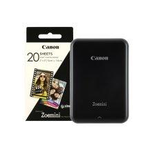 Canon Zoemini Slim Body Pocket Sized Photo Printer Black inc 30 Prints