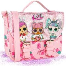 LOL Surprise! Kids' 7288 Pink Satchel Bag