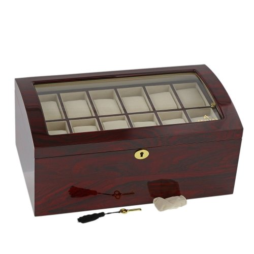 RoseWood Watch Collector Box for 24 watches by Aevitas