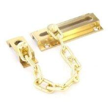 Securit Brass Door Chain