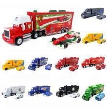 Pixar Cars McQueen King Racer Truck Car Kids Toy