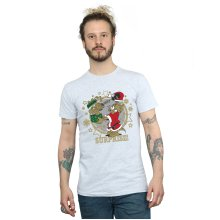Tom And Jerry Men's Christmas Surprise T-Shirt