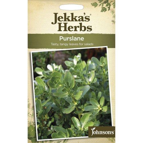 Johnsons - Jekka's Herbs - Pictorial Pack - Purslane - 300 Seeds