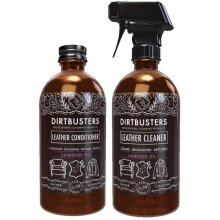 Dirtbusters lavender oil leather cleaner and conditioner 2 x 500ml