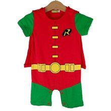 Robin-inspired Baby Infant Superhero Costume