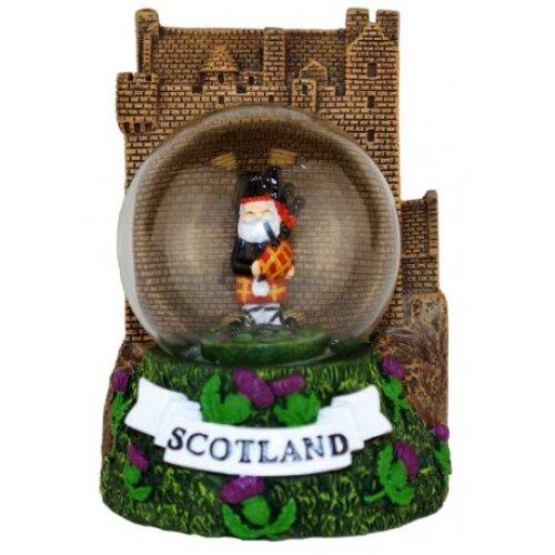 Scottish Piper Premium Snow Globe