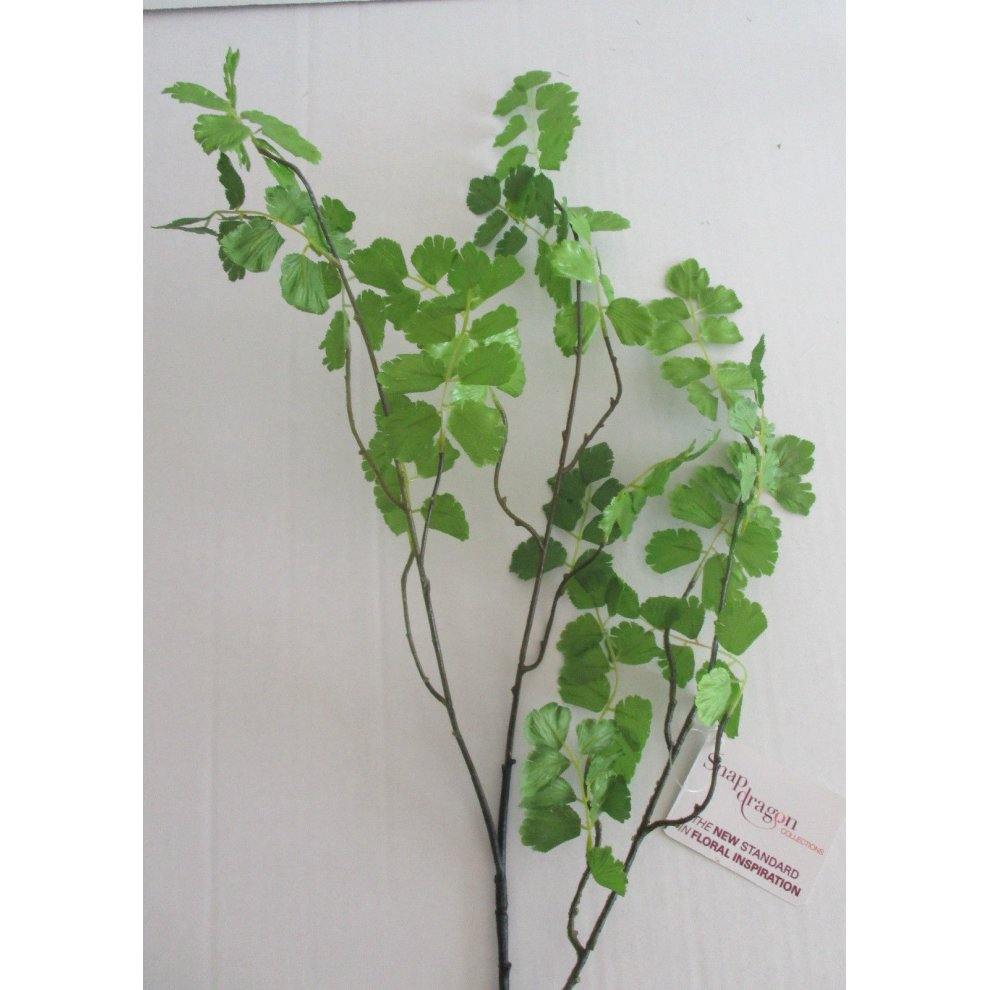 Artificial Maidenhair Fern Length 83cm Fake Fern Foliage Bouquet Filler