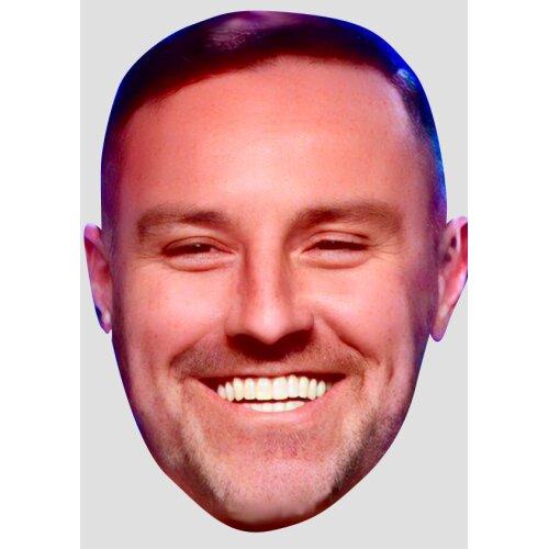 Kris Boyd Face Mask - Celebrity Foootballer Rangers Face Design 1