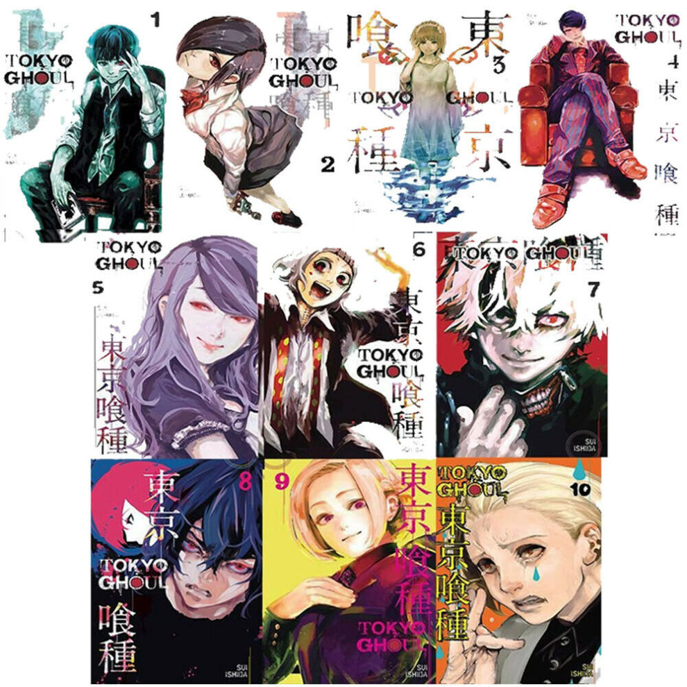 Tokyo Ghoul Collection Volume 1 10 10 Books Bundle By Suilshida On Onbuy