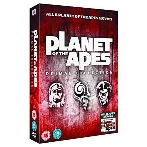 Planet Of The Apes - Primal Movie Collection (8 Films) DVD [2014]